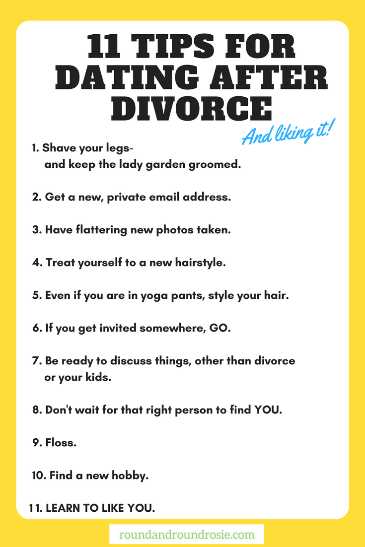 How long after divorce dating