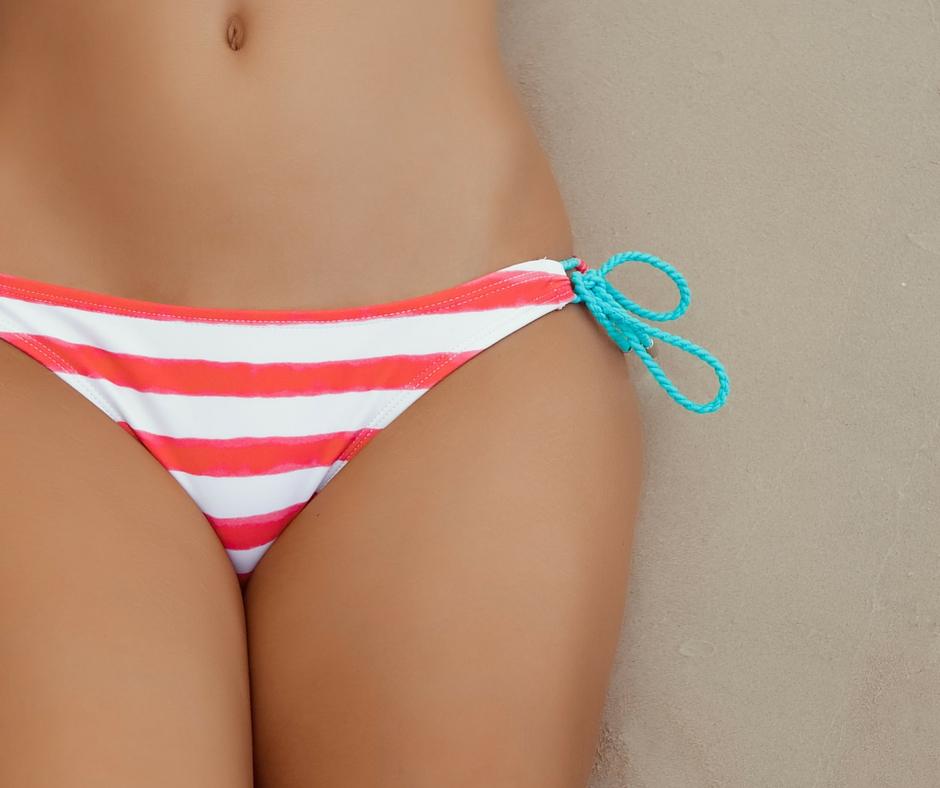 bikini wax Ladie getting a
